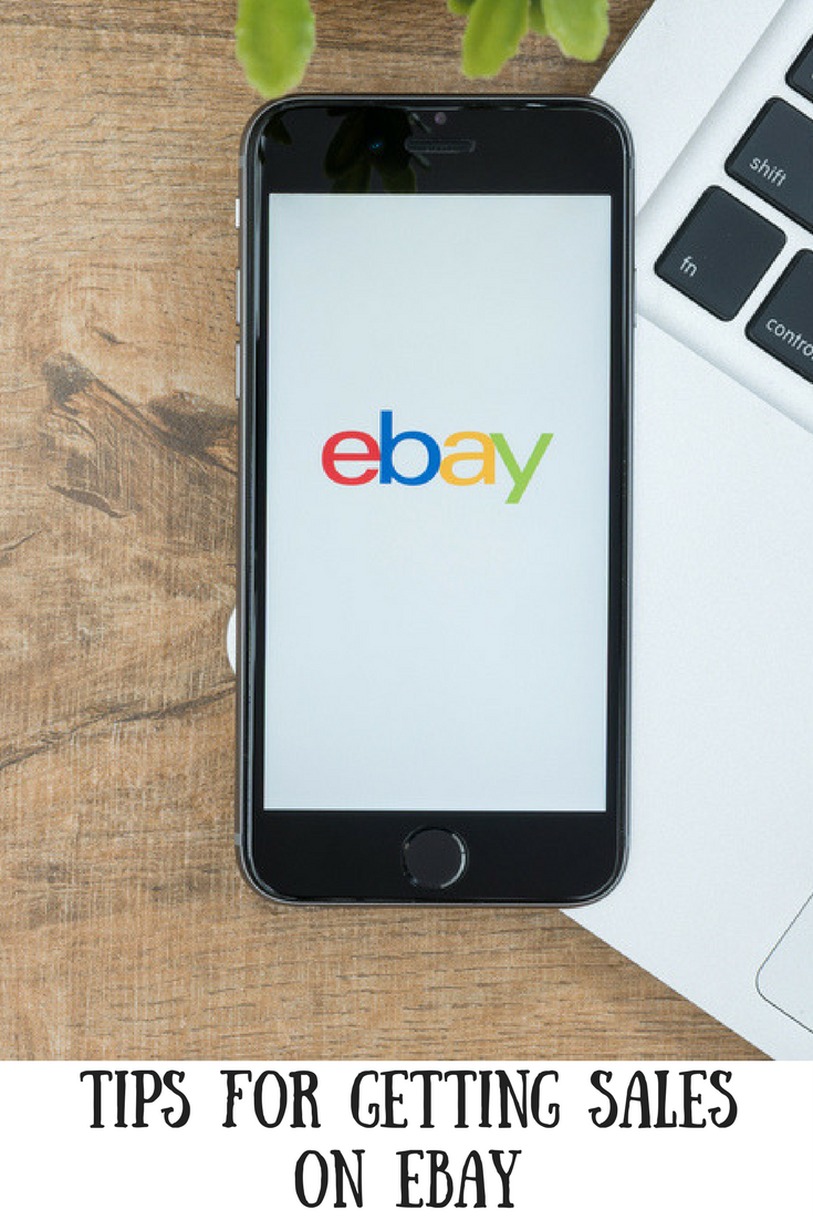 (AD) My top tips for getting sales on eBay. Make money, de-clutter and get rid of unwanted items with eBay selling