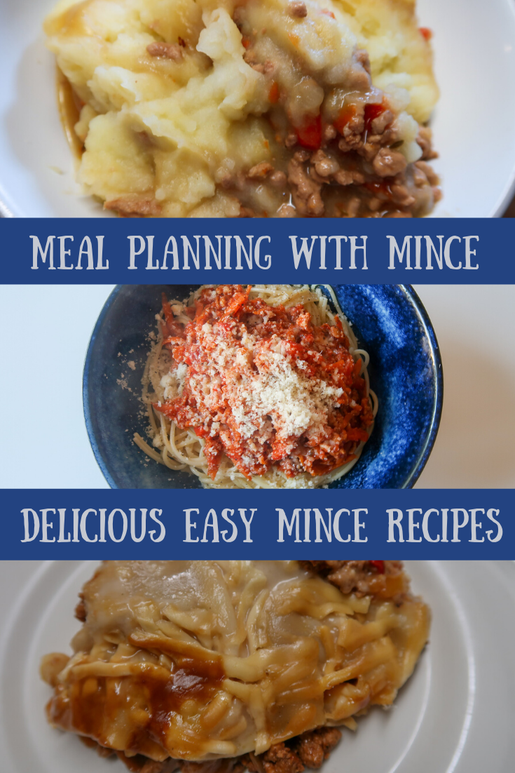 Cottage pie, spaghetti bolognese and lasagne - meal planning with mince delicious easy mince recipes