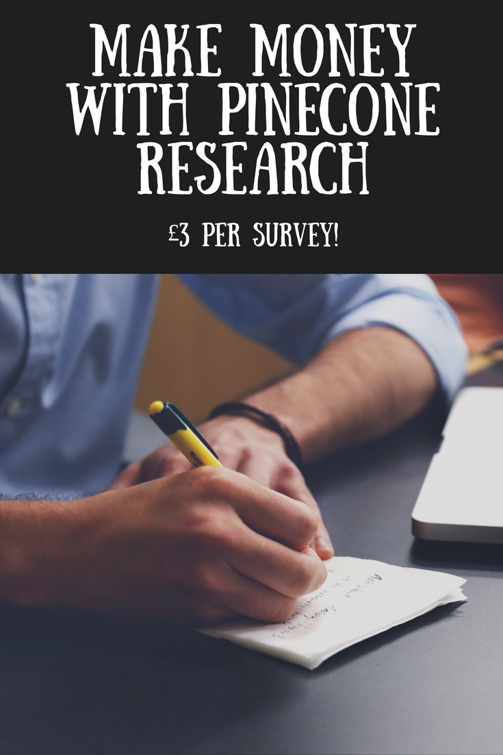 Make money with Pinecone Research surveys. Money making, online money, paid surveys, finances