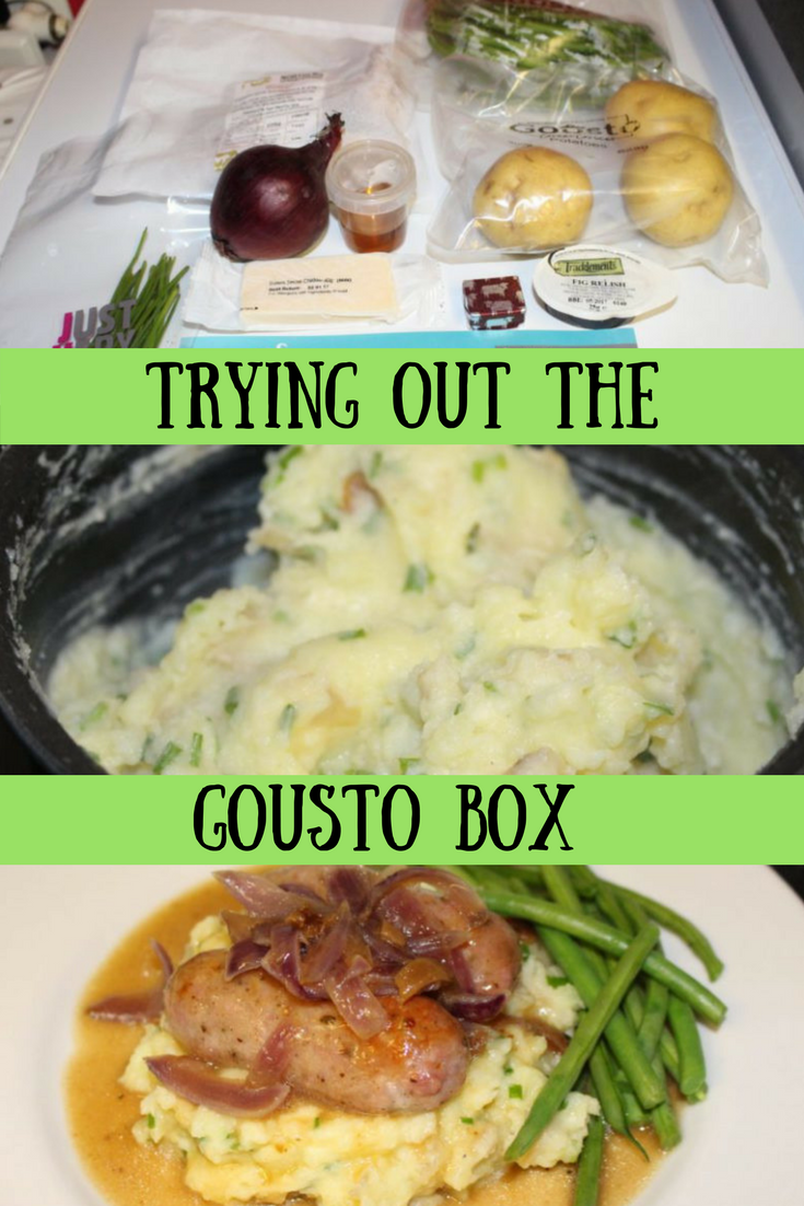 I've been trying out the Gousto UK food box. Come take a look at a recipe I created and see what I think