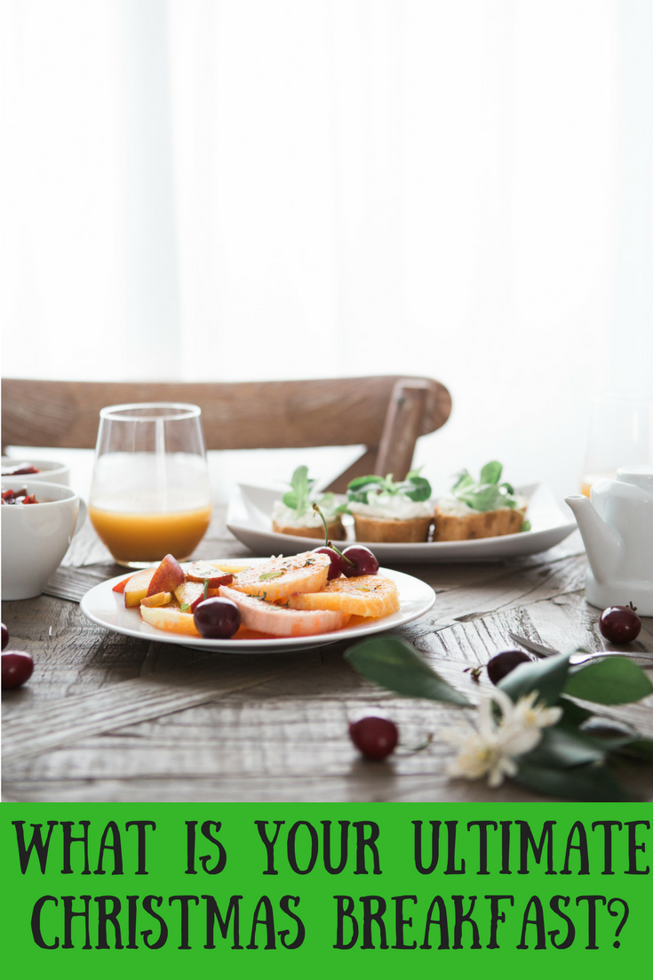 What is your favourite breakfast to enjoy on Christmas morning? Bacon sandwich, Full English breakfast or something else?