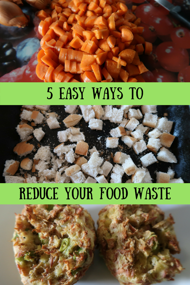 5 easy ways to reduce your food waste. Find out how to save money, cut food waste and join a great zero waste Facebook group