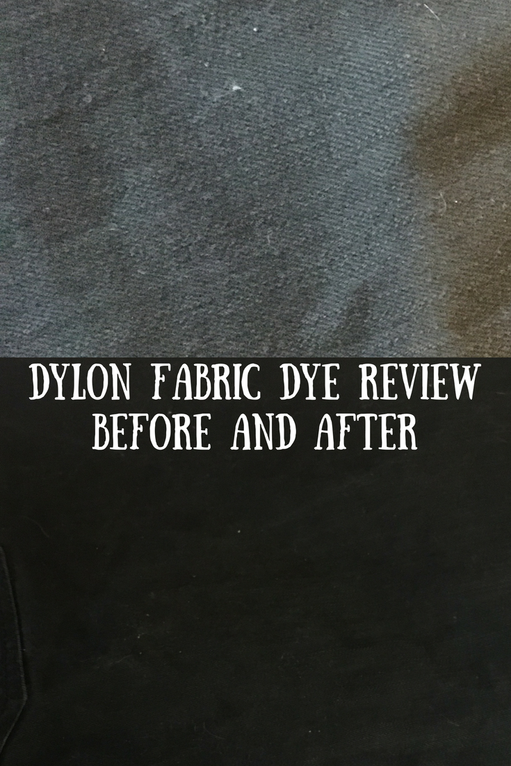 Dylon fabric dye - before and after. Dylon fabric dye is suitable for machine washing, does not require salt and is simple to use.-2
