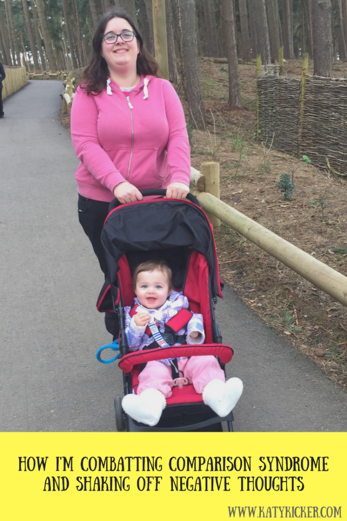Katy and Daisy out for a walk on holiday in Centerparcs