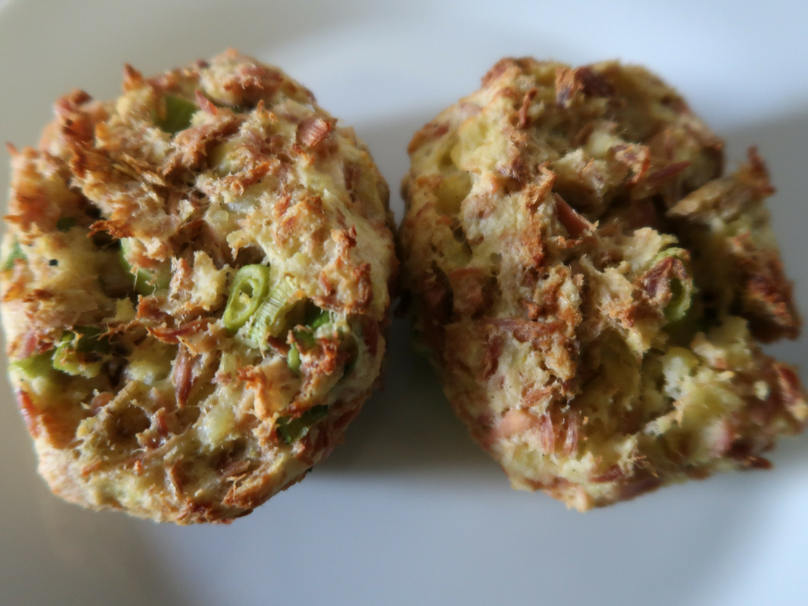 A look at my ultimate lazy tuna fishcakes - once cooked