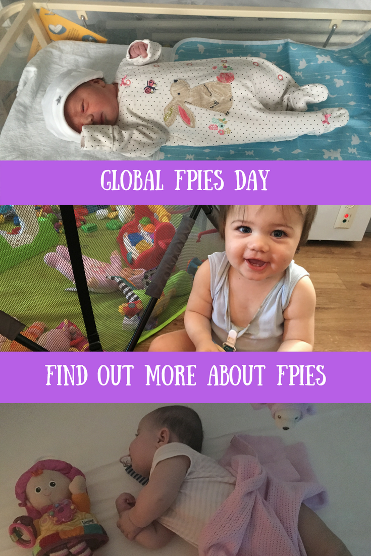 Global FPIES Day - 14th October 2017. Find out more about FPIES, our experiences with FPIES & food allergy syndromes. Parenting, allergies, CMPA, reflux