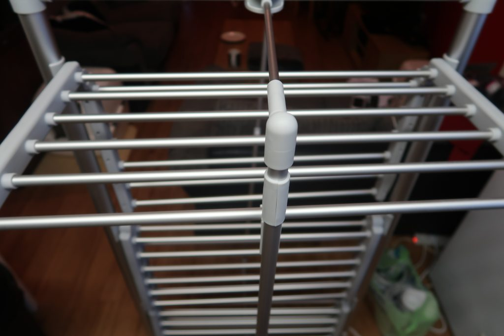 Dry:Soon 3-Tier Heated Tower Airer opened up