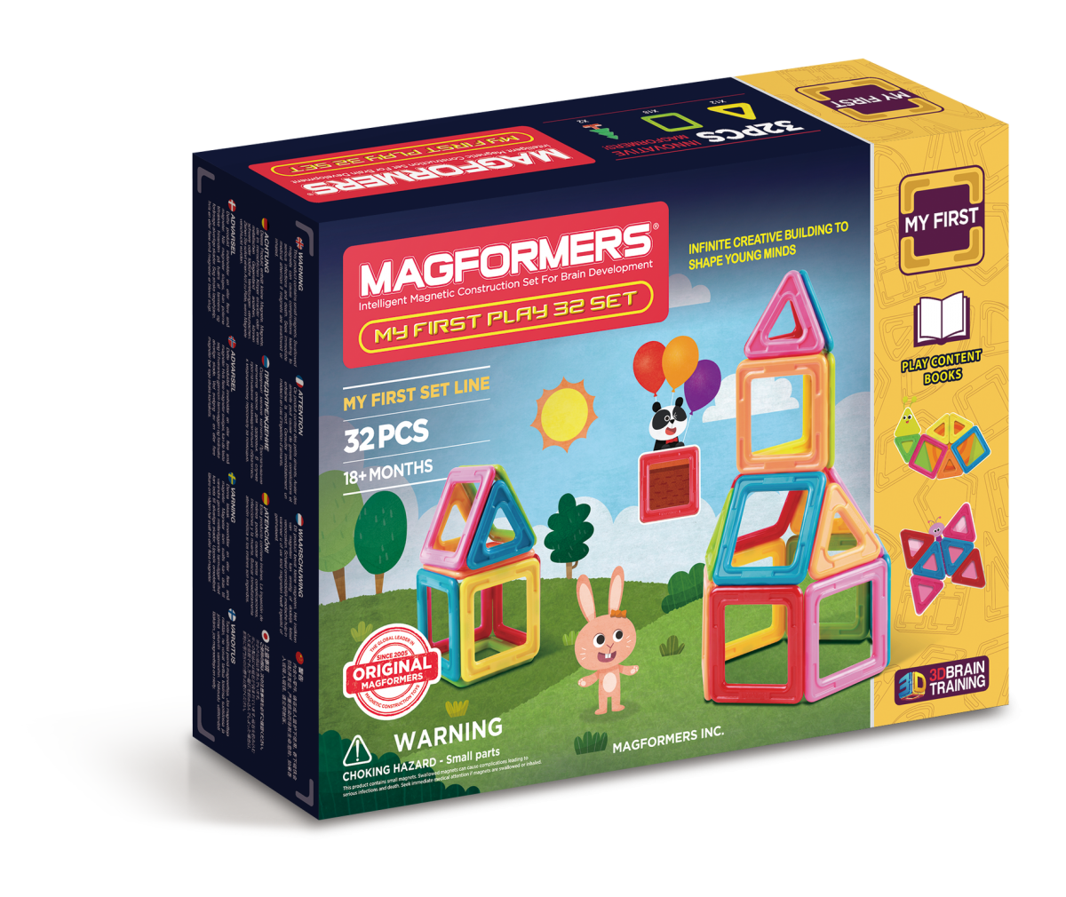 Magformers - great gifts for a toddler gift guide