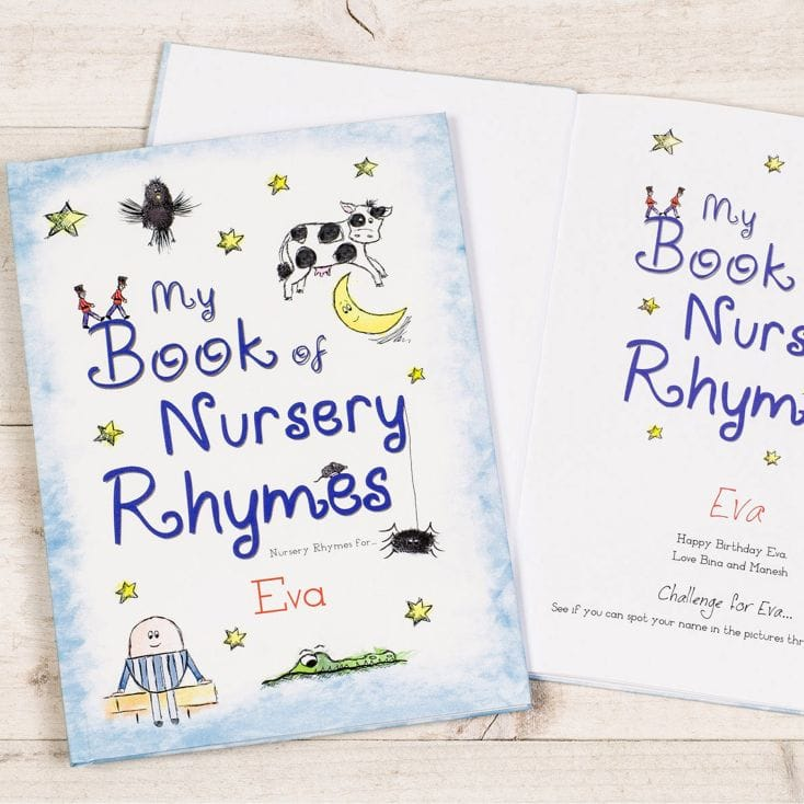 My Book of Nursery Rhymes - great gifts for a toddler gift guide