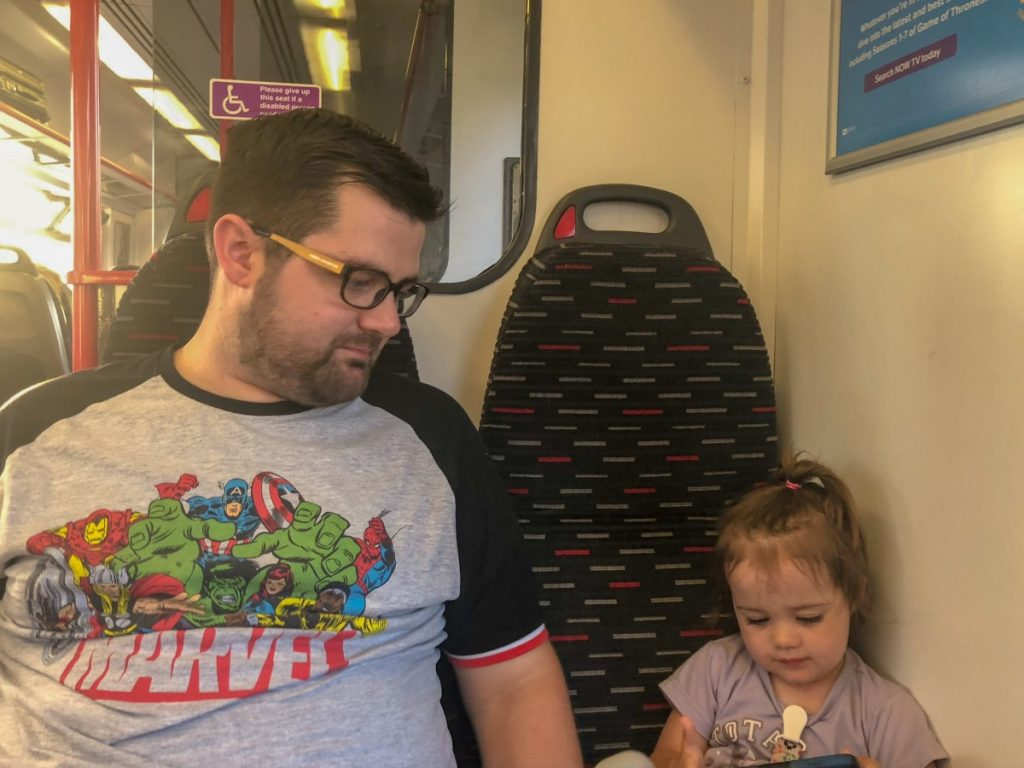 A trip to Clacton-On-Sea - Travelling on the train with Greater Anglia