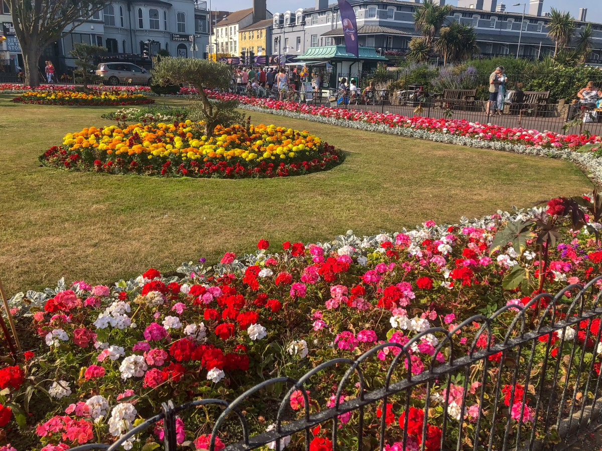 A trip to Clacton-On-Sea