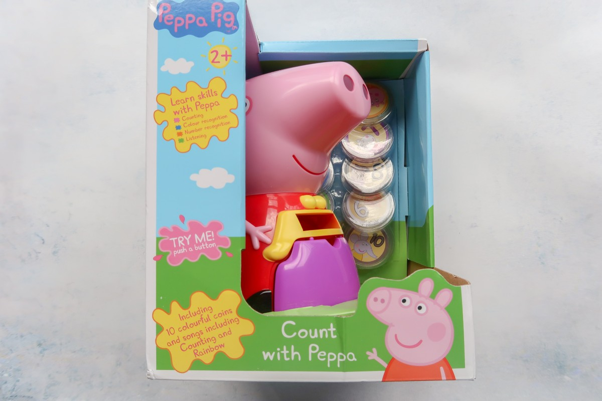 A look at the Count With Peppa Interactive Money Box