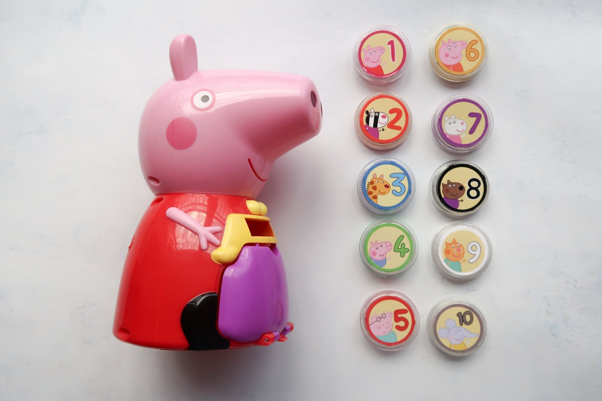 Count With Peppa Interactive Money Box