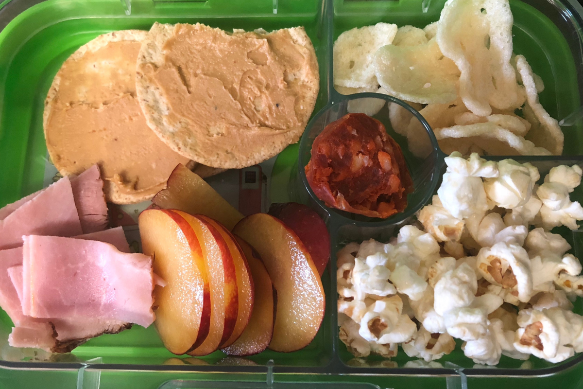 Another Yumbox I made for Daisy to enjoy for lunch
