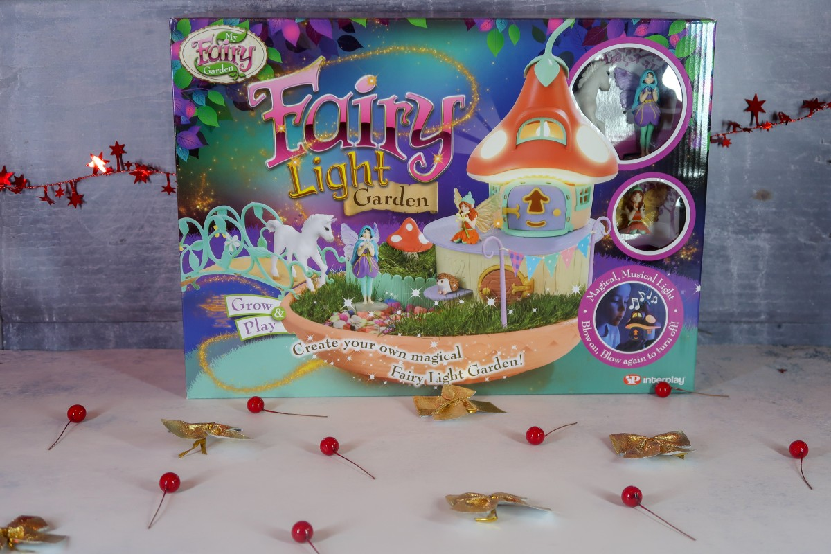 2018 Christmas Gift Guide for Toddlers Fairy Light Garden