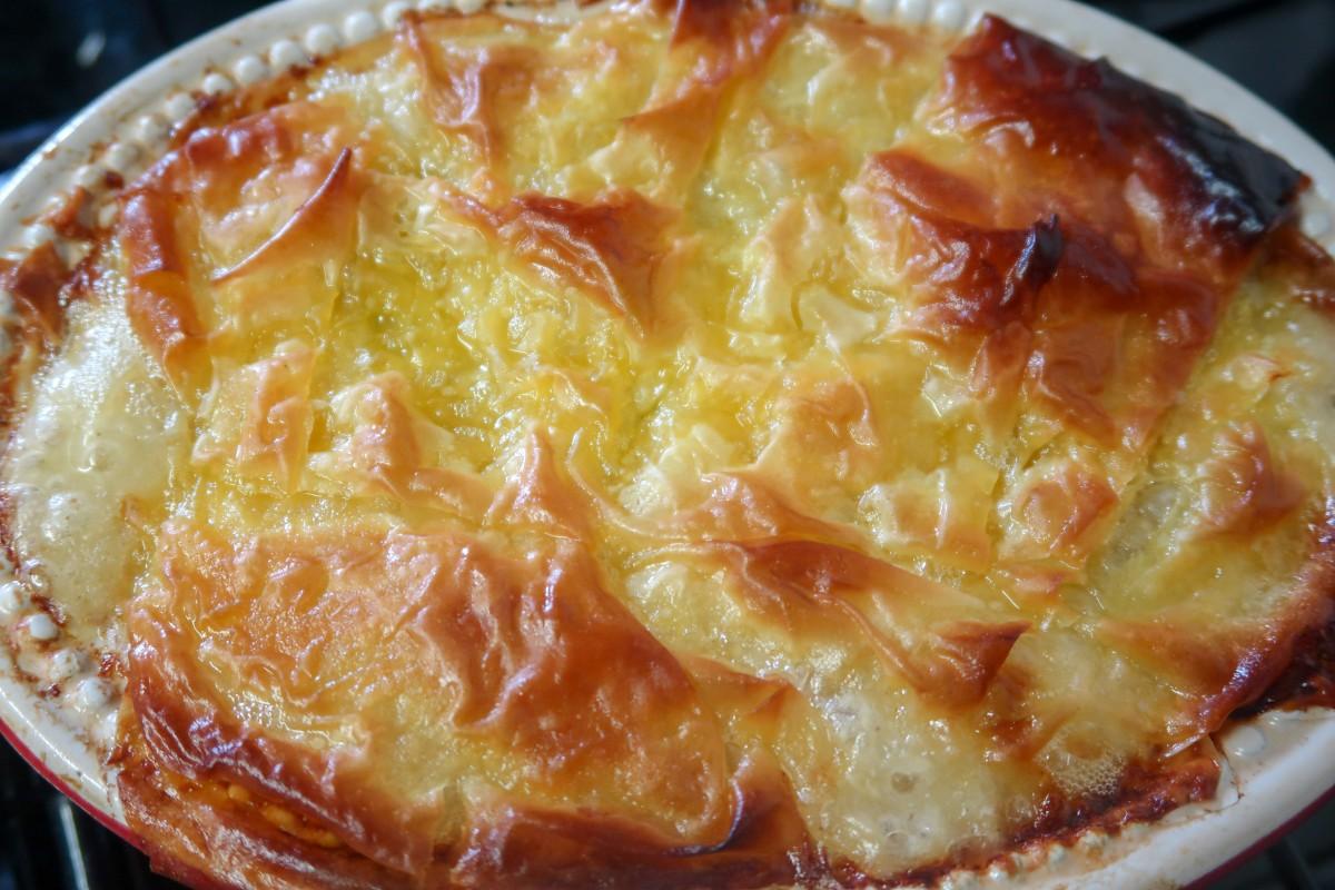Slow cooker chicken mushroom pie filling