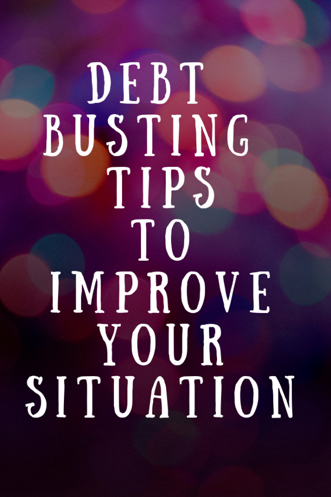 (AD) Debt busting tips to improve your situation #money #finances #personalfinance #debt #debttips #tips #moneysaving
