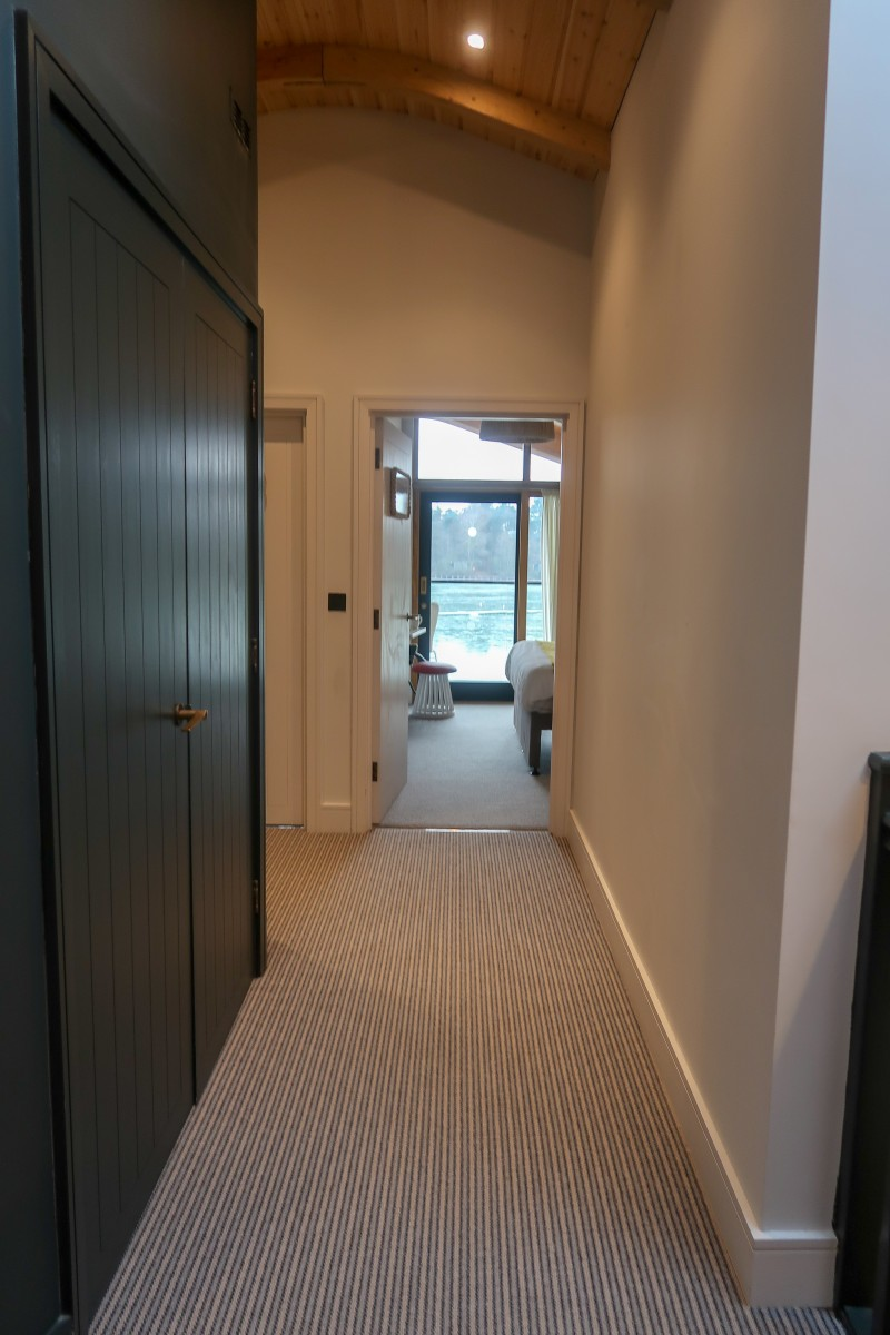 Centerparcs Waterside Lodge Review - The hallway upstairs