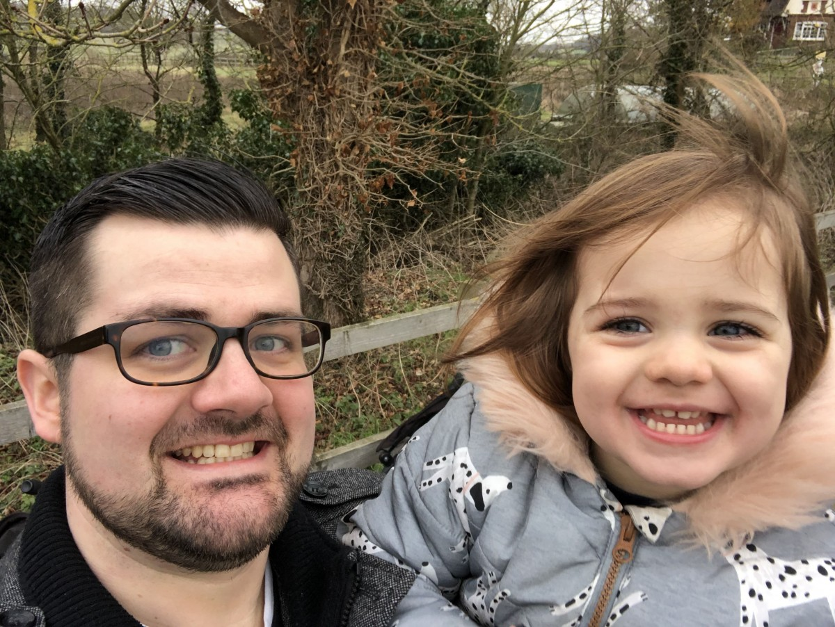 Daddy and Daisy at Lee Valley Park Farms