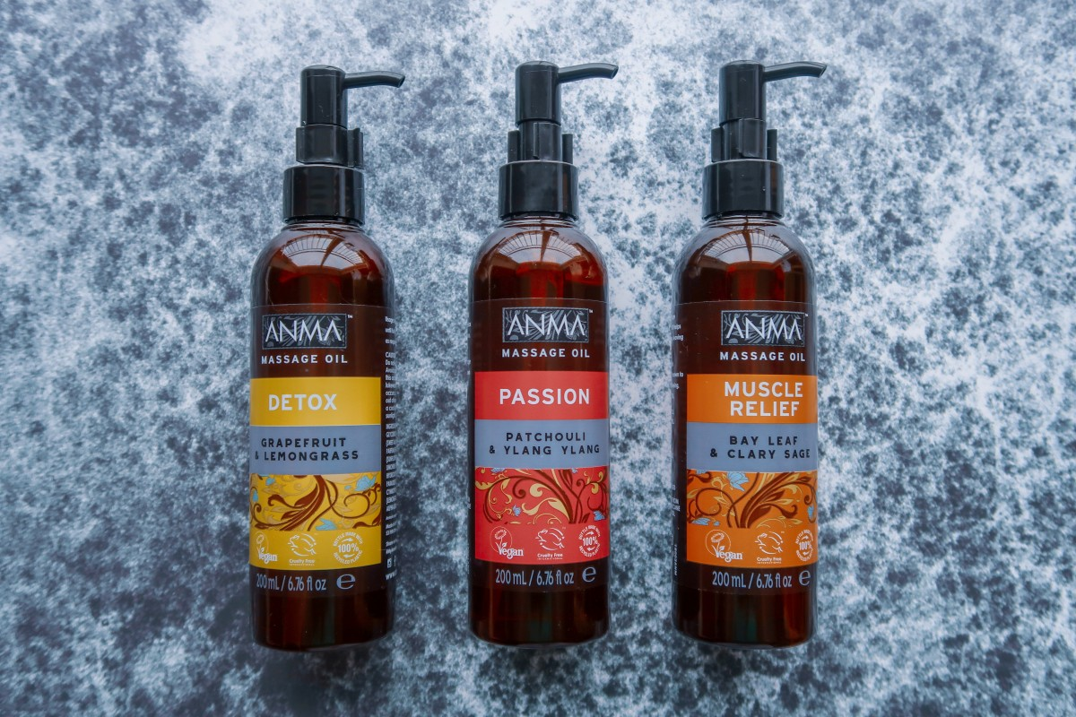 Valentine's Day Gift Guide for 2019 - Anma massage oils