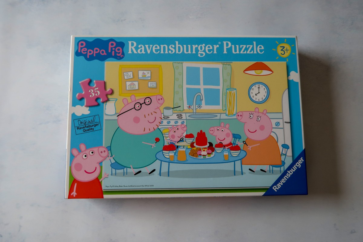 Gift ideas for a 3-year-old - Peppa Pig