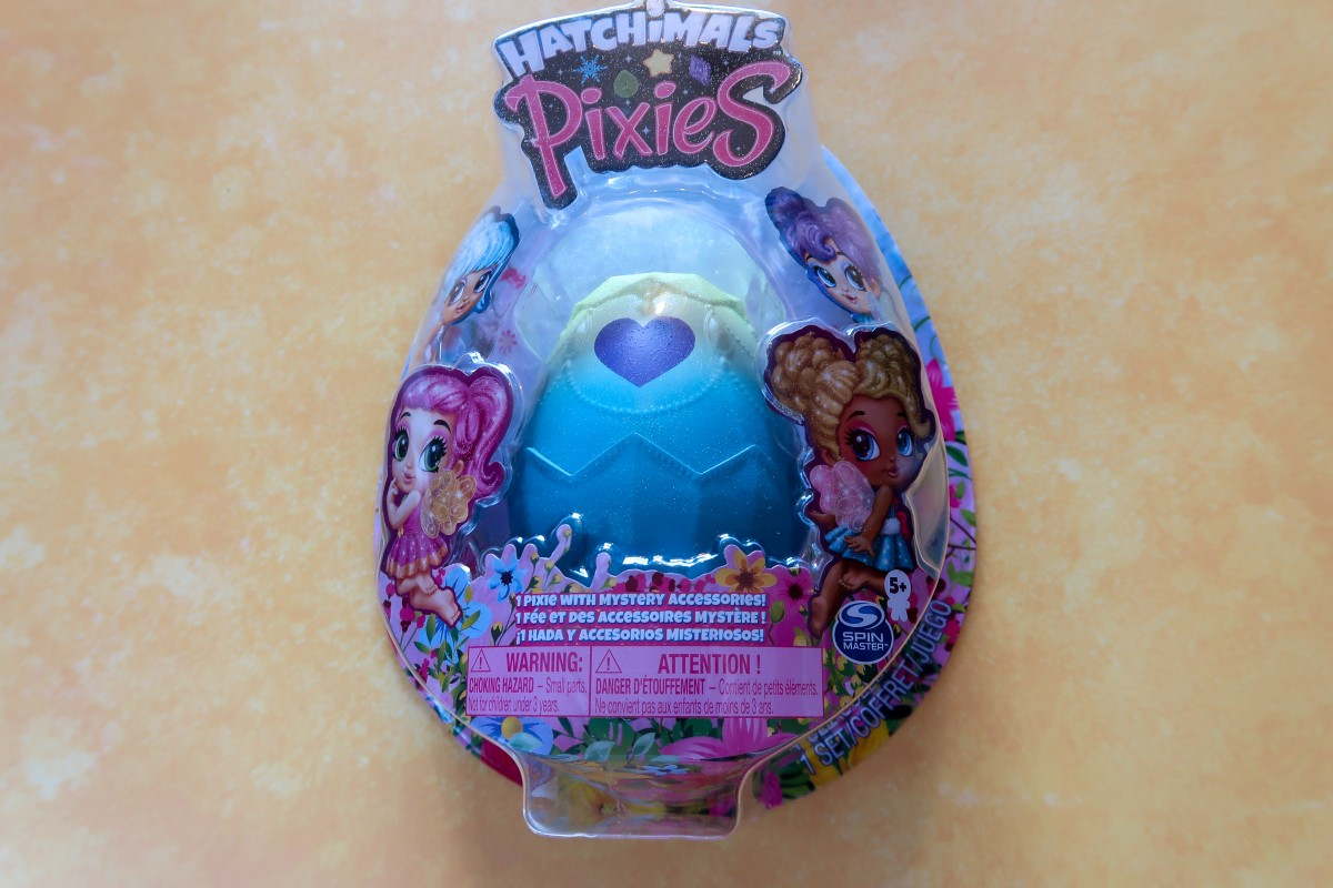 Hatchimals Pixies unboxing