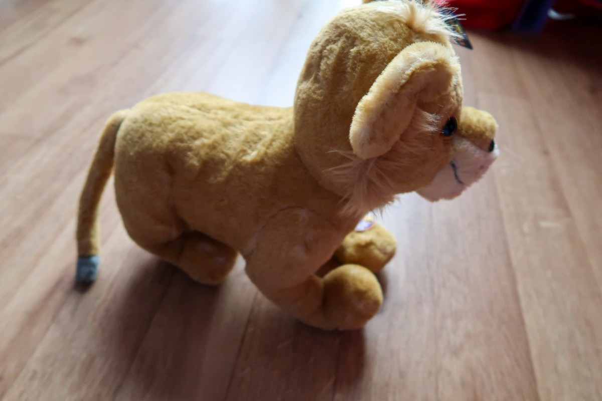 A look at the new Lion King Plush toys