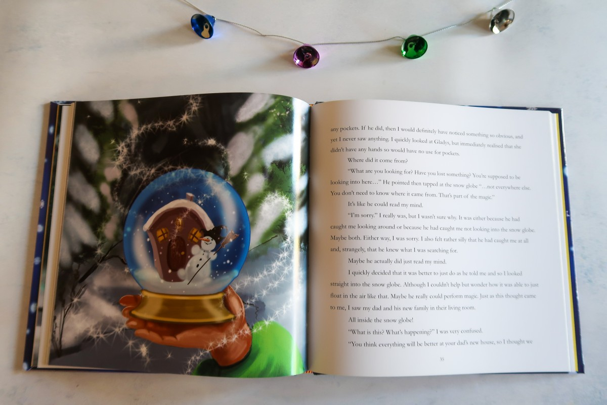 A look inside The Christmas Present by Alexander McCabe