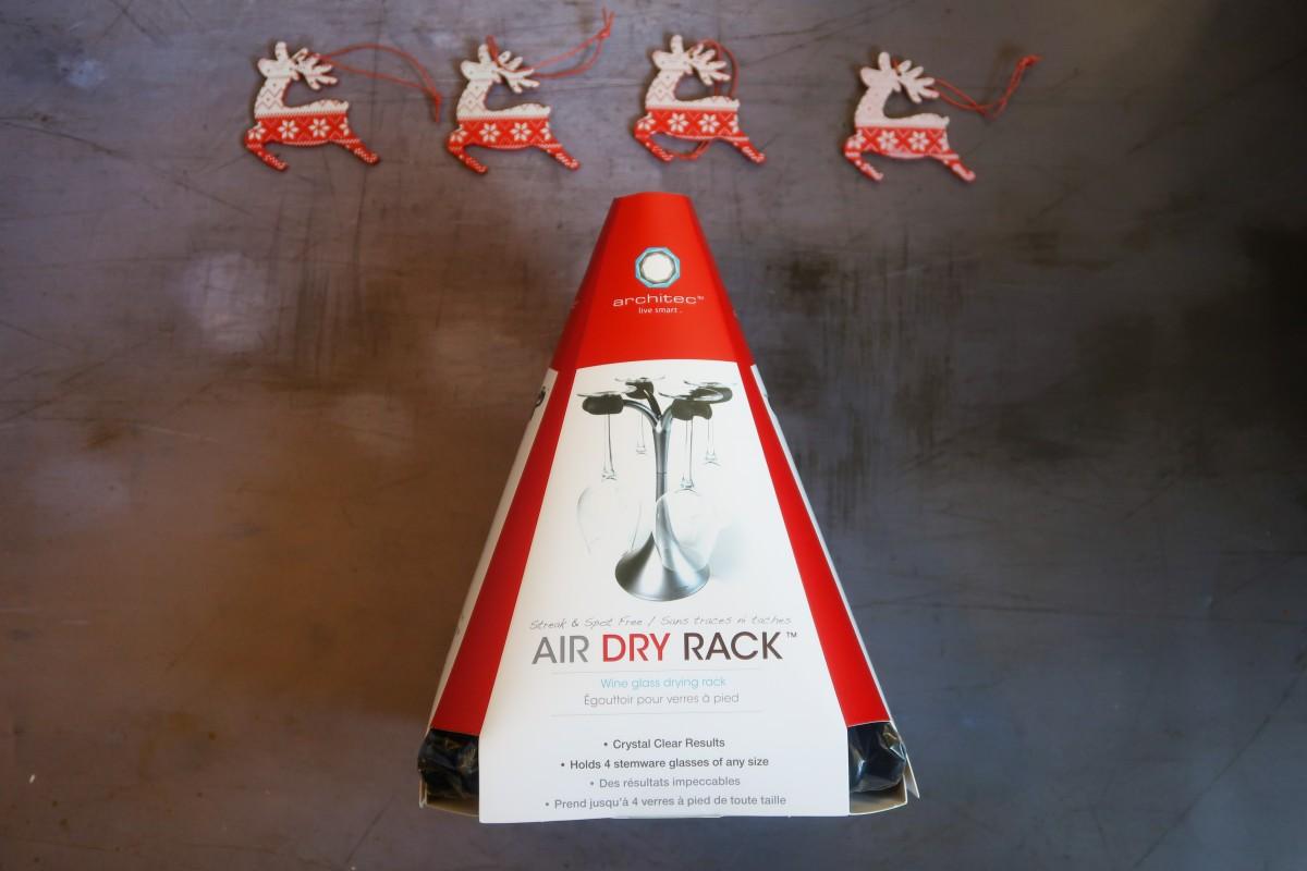 Architec Air Wine Glass Drying Rack