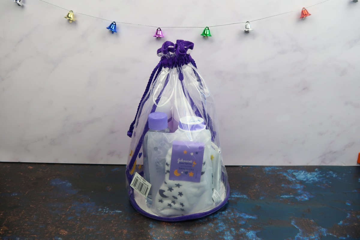 Christmas gifts for a new baby - Johnsons Sleep Tight set
