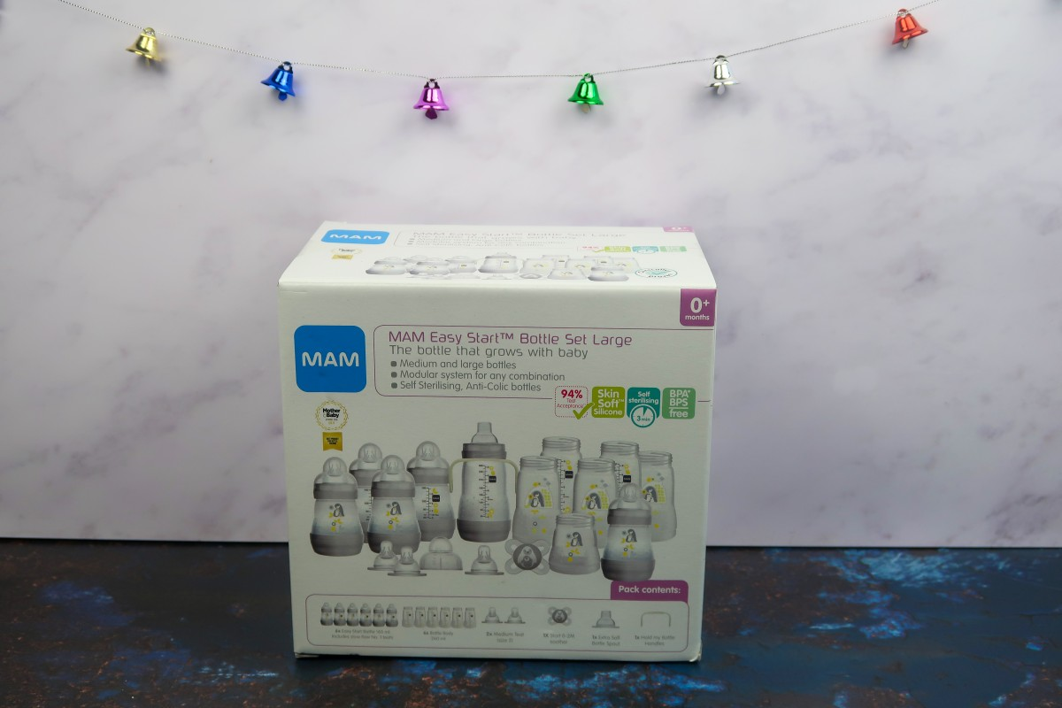 Christmas gifts for a new baby - Mam anti-colic bottles