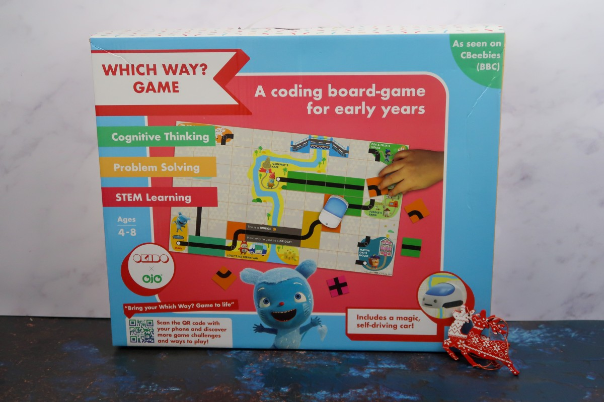 Christmas gifts for children - Which Way? Coding Game