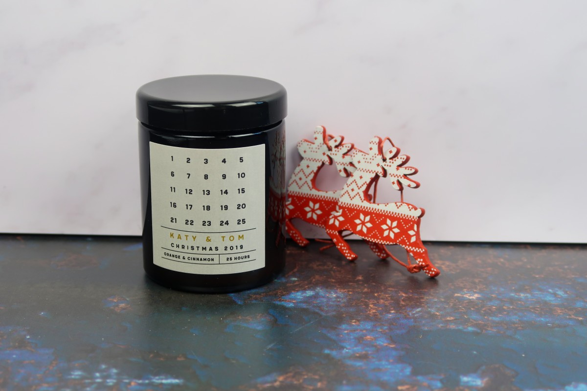Christmas gifts for parents - Advent Candle