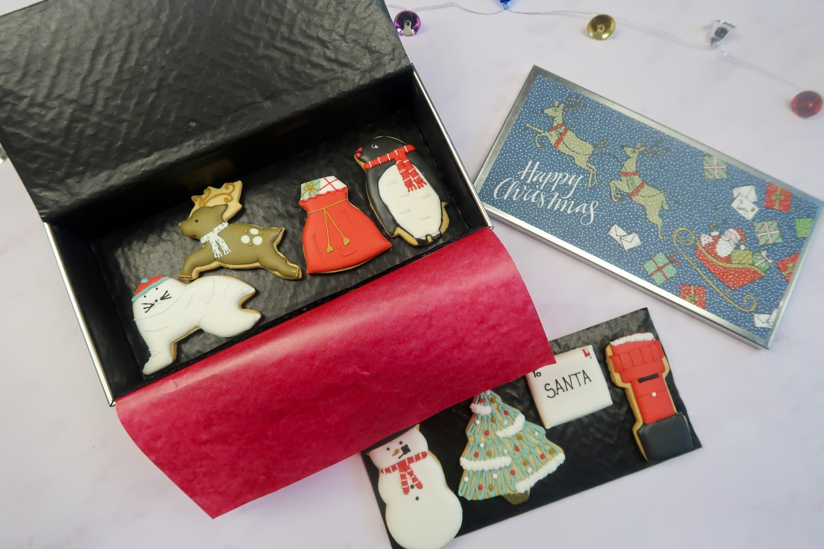 Christmas gifts for parents - Lapland Biscuiteers