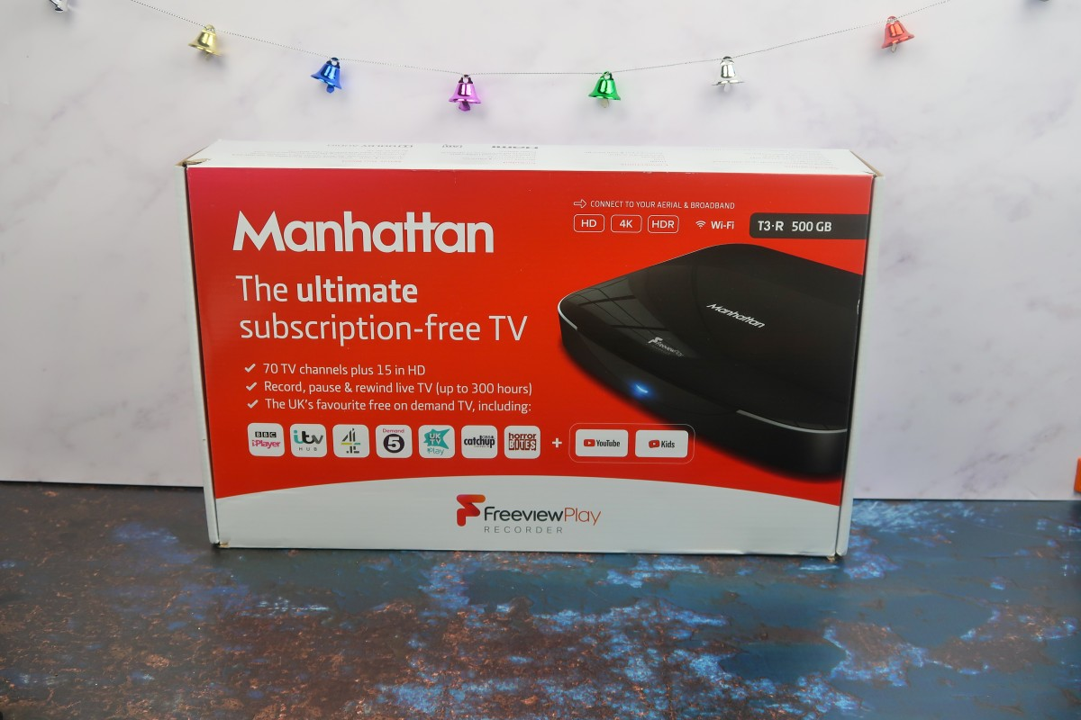 Christmas gifts for parents - Manhattan Freeview Recorder