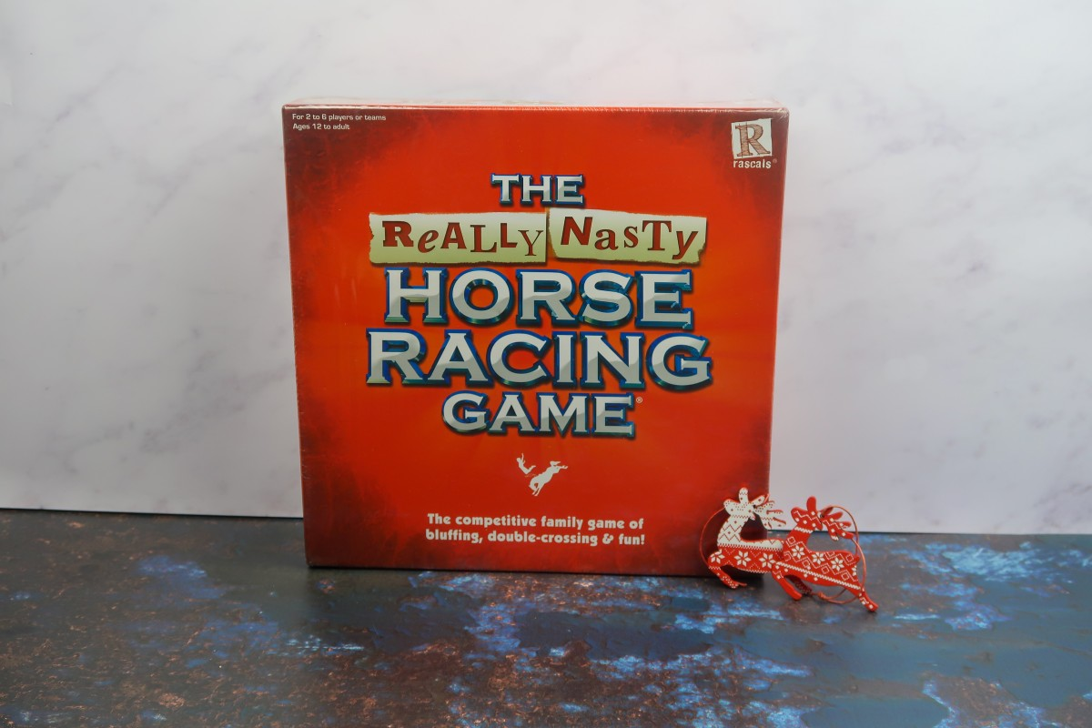 Christmas gifts for parents - The really Nasty Horse Racing Game