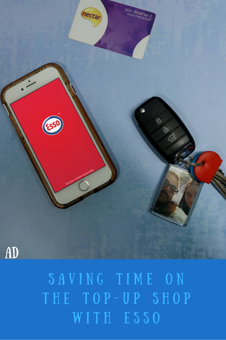 Saving time on the top-up shop with Esso. Collect Nectar points with the Esso Nectar loyalty programme