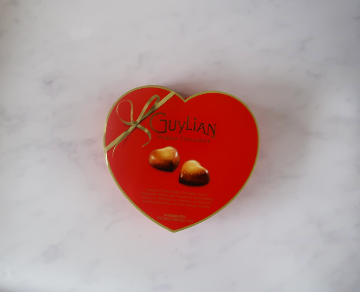 Guylian chocolates - heart shaped