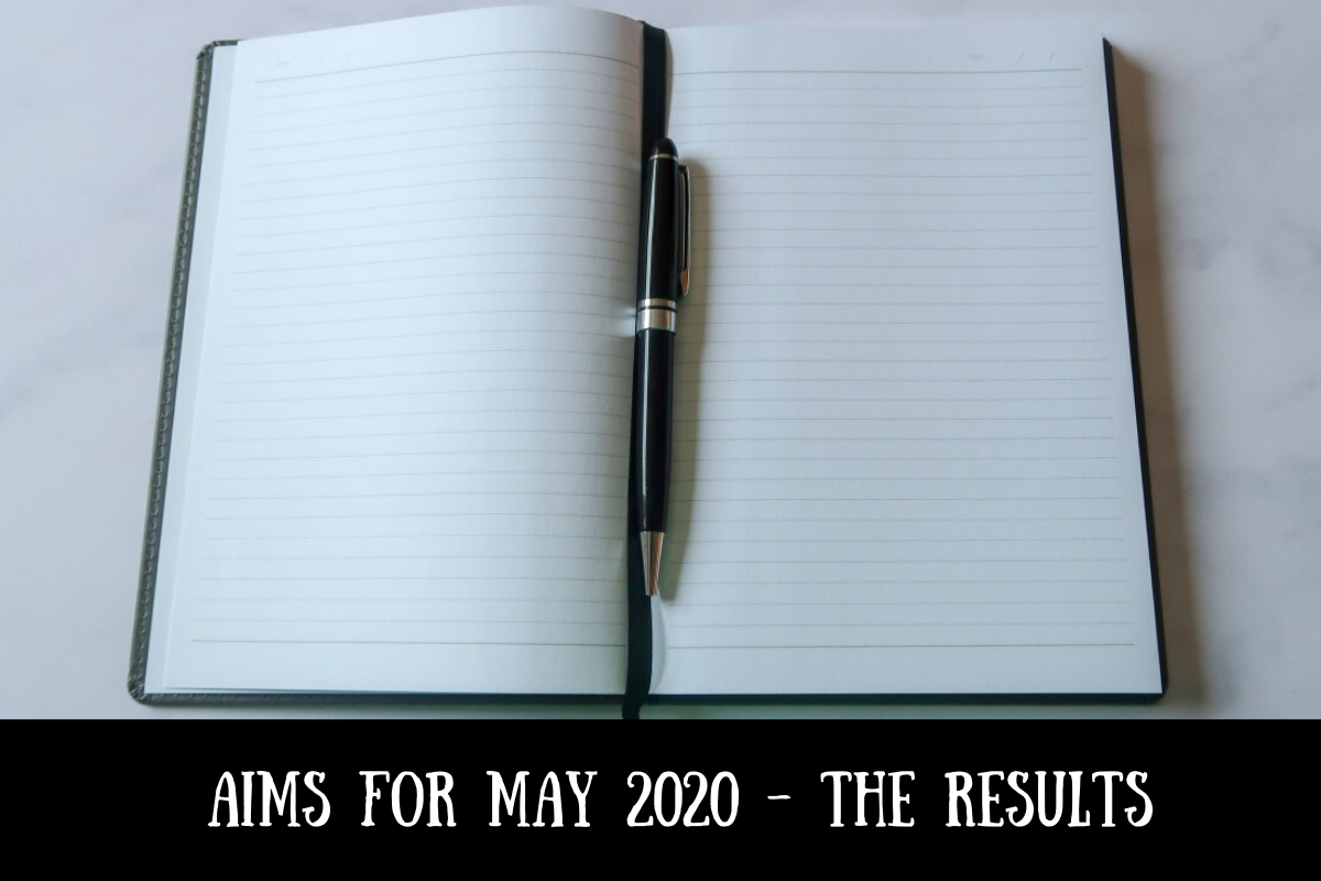 Aims for May 2020 - the results