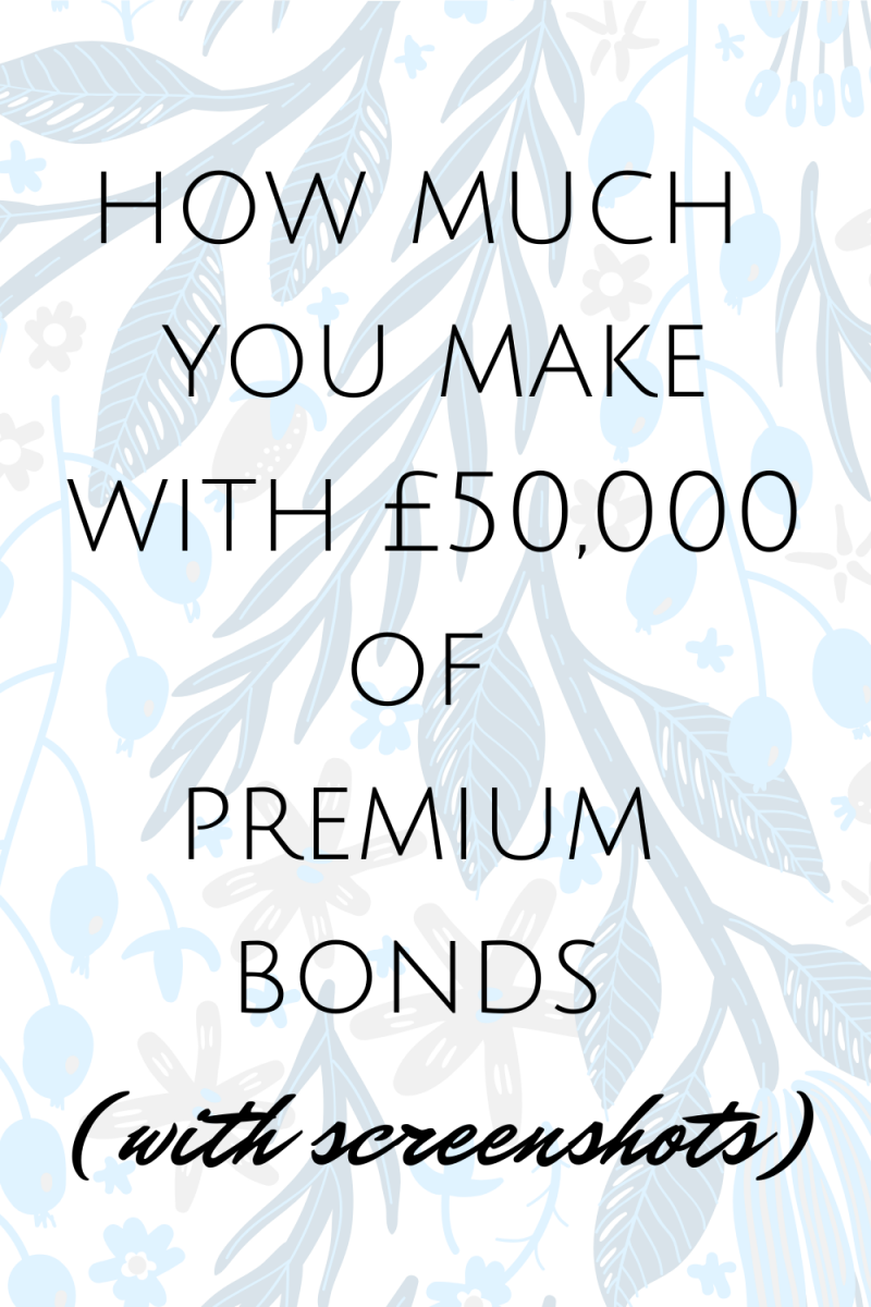 How much you win with £50,000 of premium bonds #PremiumBonds #MoneyMaking #Investments #SaveMoney