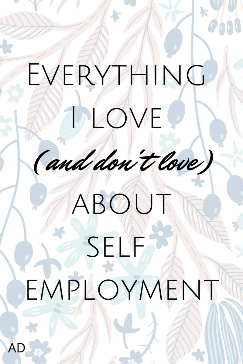 Positives and negatives of self-employment. #SelfEmployed #Freelancer #WorkFromHome #SelfEmployment #SoleTrader
