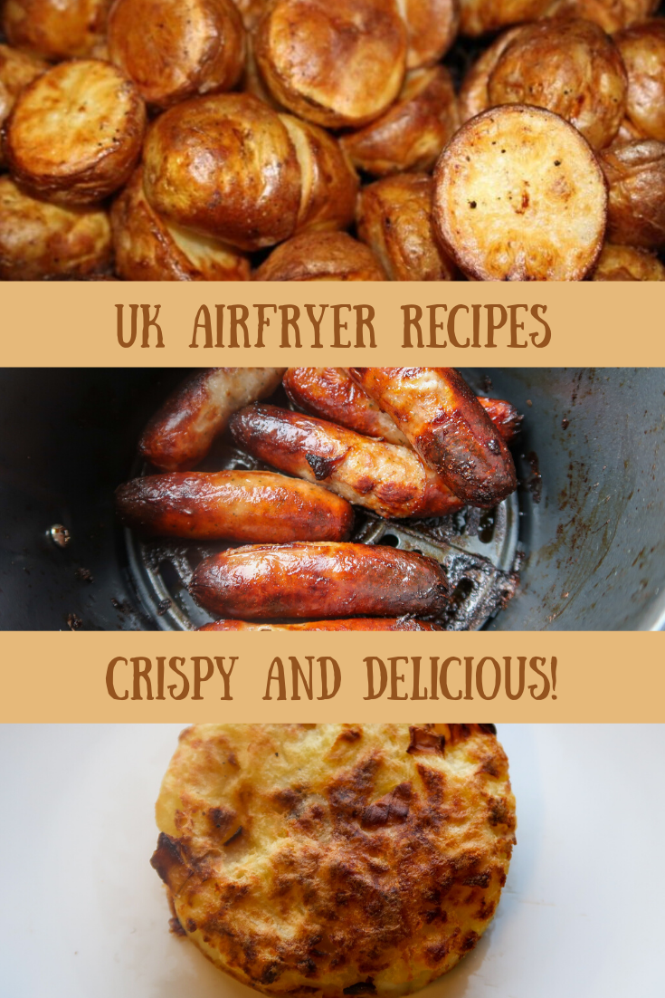 UK Airfryer recipes for crispy, delicious air fried food. #AirFryer #AirFry #FriedFood #Fakeaway