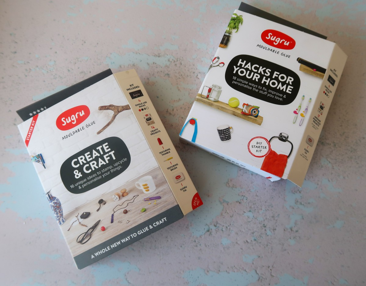 Sugru create & craft and hacks for your home
