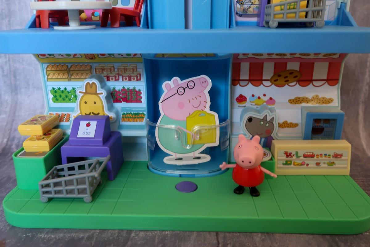 Floor 1 of the Peppa Pig Shopping Centre