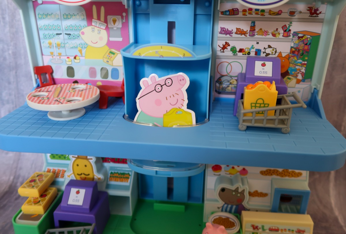 Floor 2 of the Peppa Pig Shopping Centre