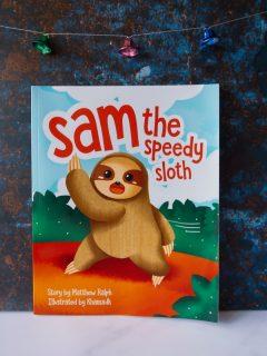 Sam The Speedy Sloth Book