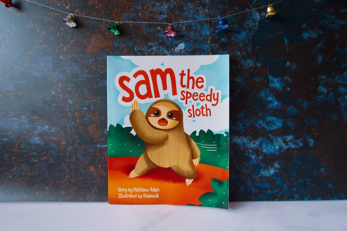 Sam The Speedy Sloth Book