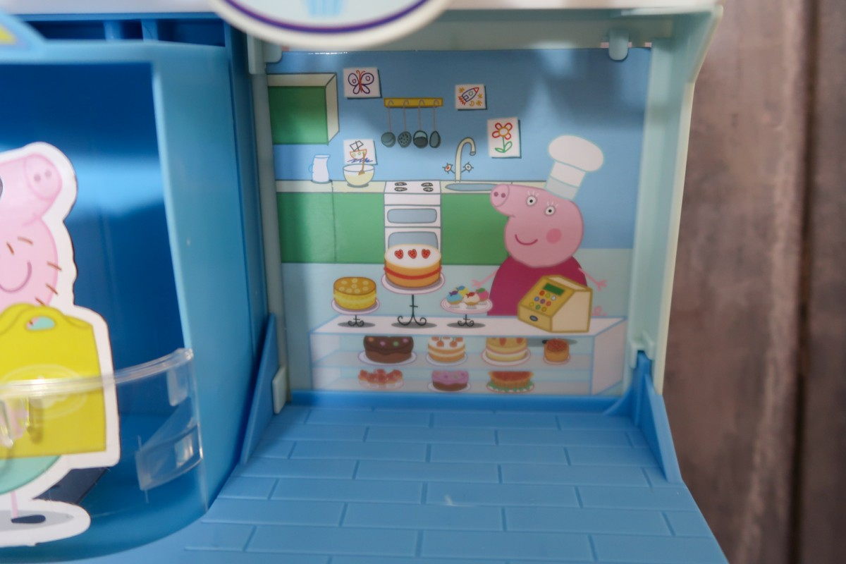 Shops in the Peppa Pig Shopping Centre