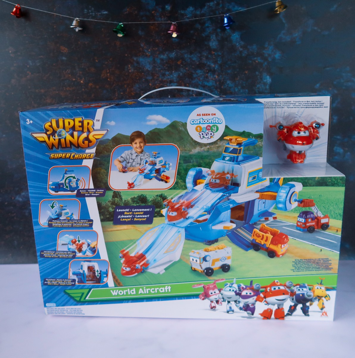 Super Wings Super Charge World Aircraft