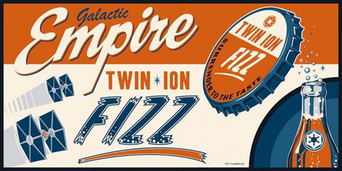 Empire Fizz Fine Art Print